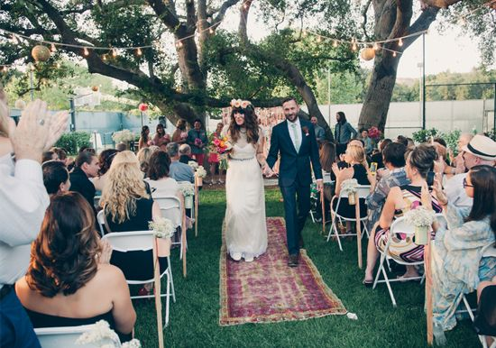Bride Walked Down The Aisle To Ingrid Michaelson Covering