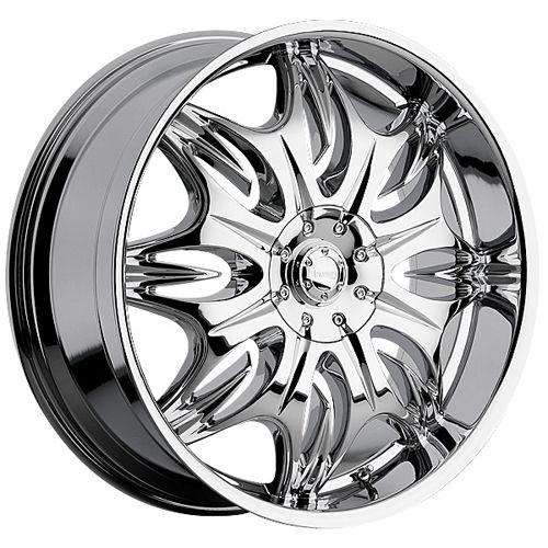 Incubus Jinx Wheels 716 Wheel Wheel Rims Chrome Wheels