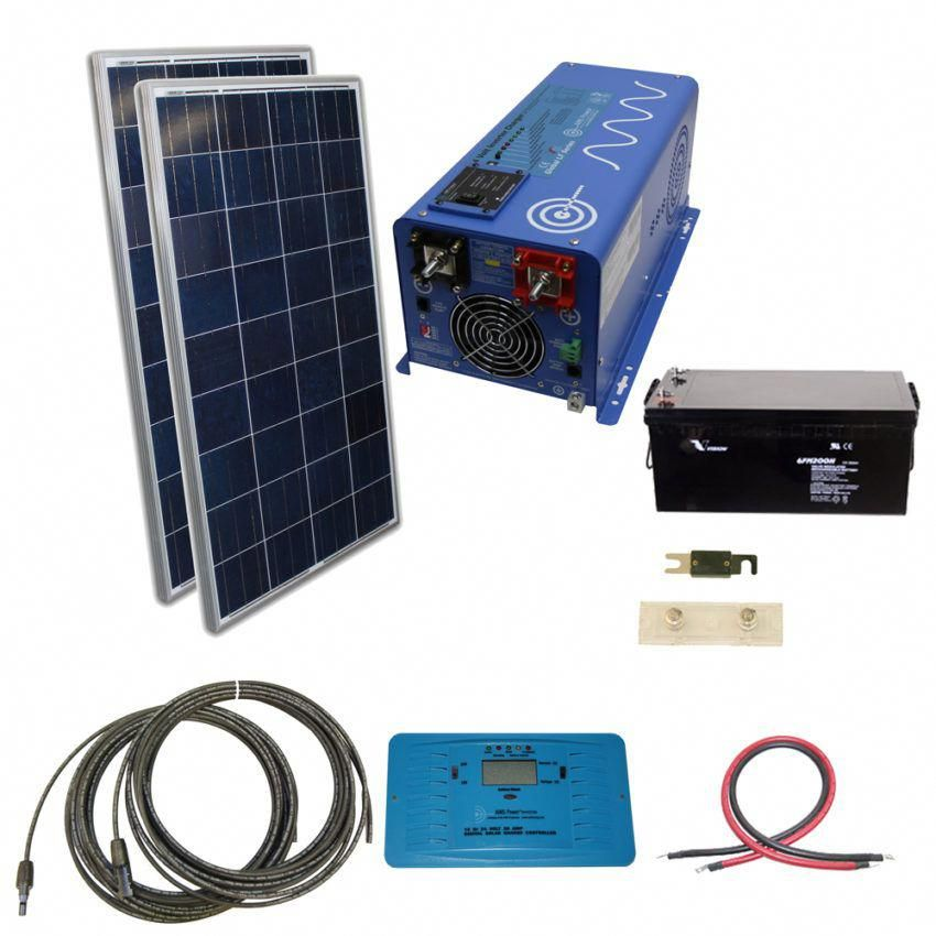 Solar Kits Inverters Panels Controllers Cables Solar Kit Solar Energy Panels Best Solar Panels