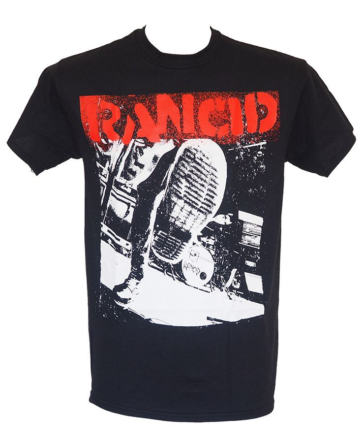 NEW /& OFFICIAL! Rancid /'Boot/' T-Shirt
