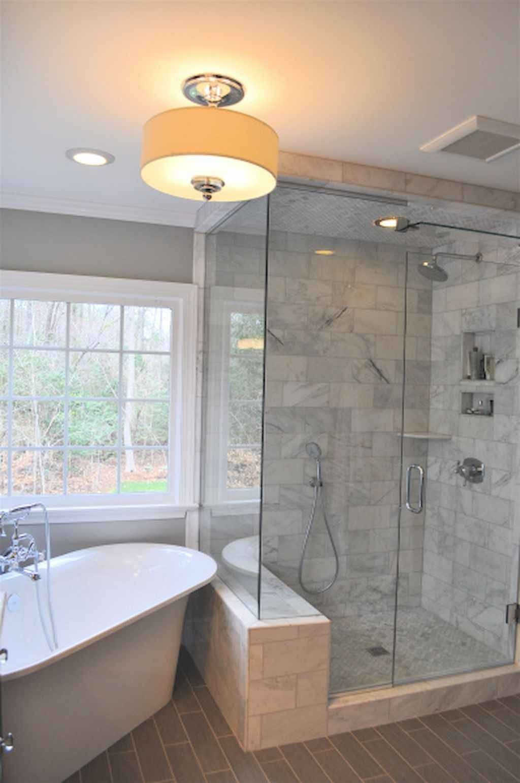 45 Streamlined Small Bathroom Shower Remodel Ideas In 2020 Farmhouse Shower Bathrooms Remodel Bathroom Remodel Master