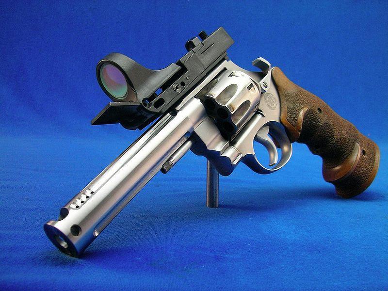 S&W Model 686 .357 Magnum PPC Conversion - Optical Sight | 123 ...