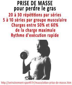 comment grossir et prendre du muscle pour perdre du gras ...