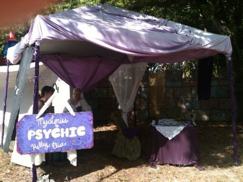 The Mysteries by Halley Elise tent for all your Psychic services. Or at least a taste while at the Faire :)  The energy here is all about you!
