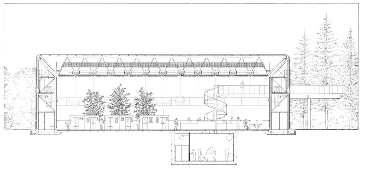Sainsbury Centre for Visual Arts - Norman Foster | Roof & Structure ...