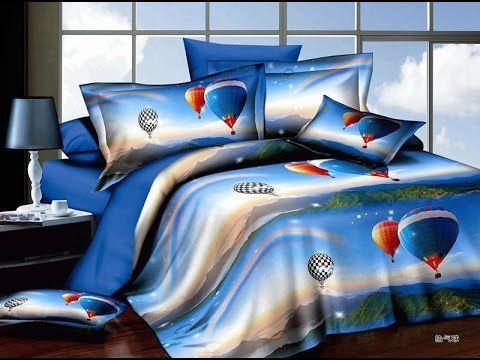 مفارش ثلاثية الابعاد صور اطقم ملايات سرير 3d Bed Room Blanket