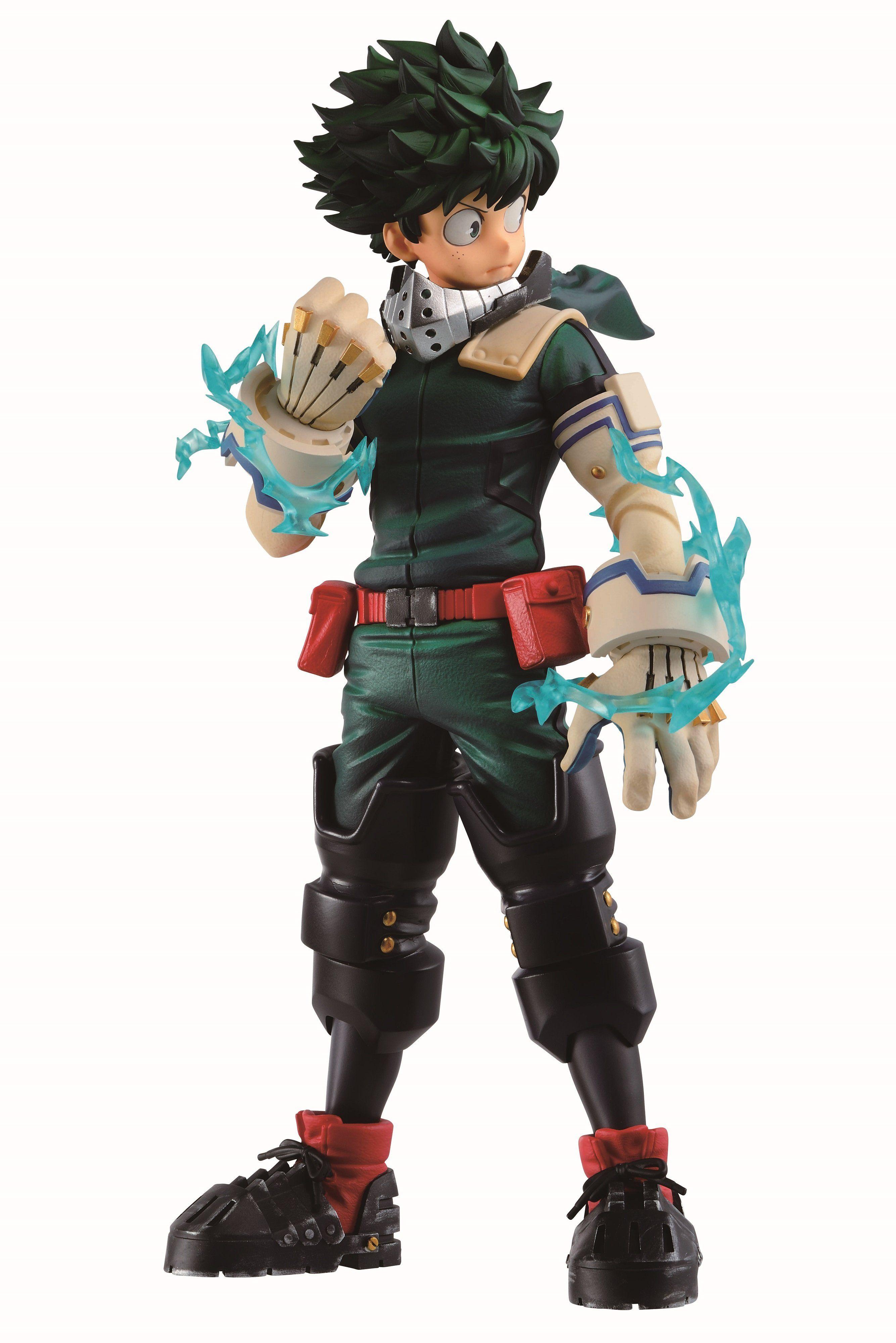 Bandai My Hero Academia Izuku Midoriya Dou Let S Begin Ichibansho Figure In 2021 My Hero Academia Hero Hero Costumes
