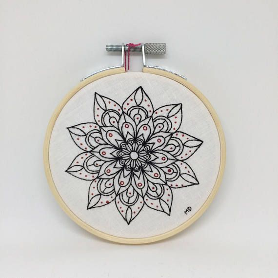 Mandala Embroidery | Mandalas Bordados | Pinterest | Bordado ...