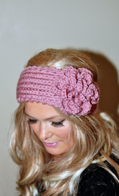 Crochet headband Earwarmer Headwrap Ear warmer Crochet by lucymir ...