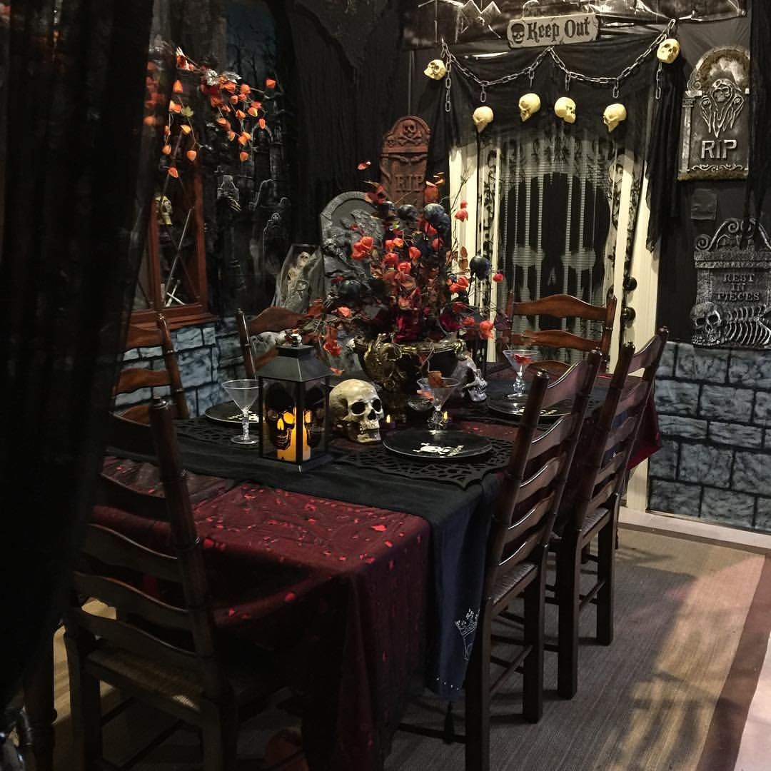 halloween decorations 2015 my dining room table lanterns from michaels - Michaels Halloween Decorations