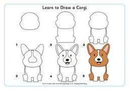 Resultado de imagem para corgi drawing