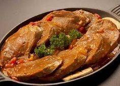 Lengua En Salsa Lengua De Res Lengua En Salsa Recetas De Cocina