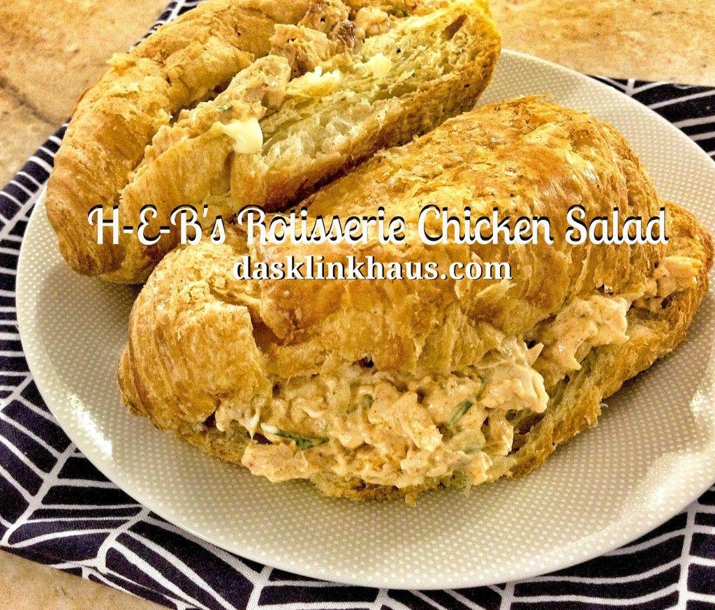 H-E-B's Rotisserie Chicken Salad {Copycat Recipe