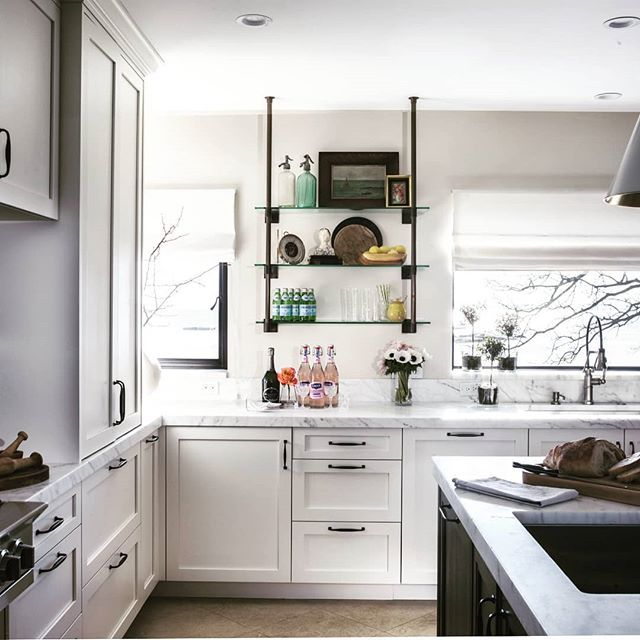 redo your kitchen in style the view is the perfect accent to highlight this renovation loving on kitchen interior top view id=51475