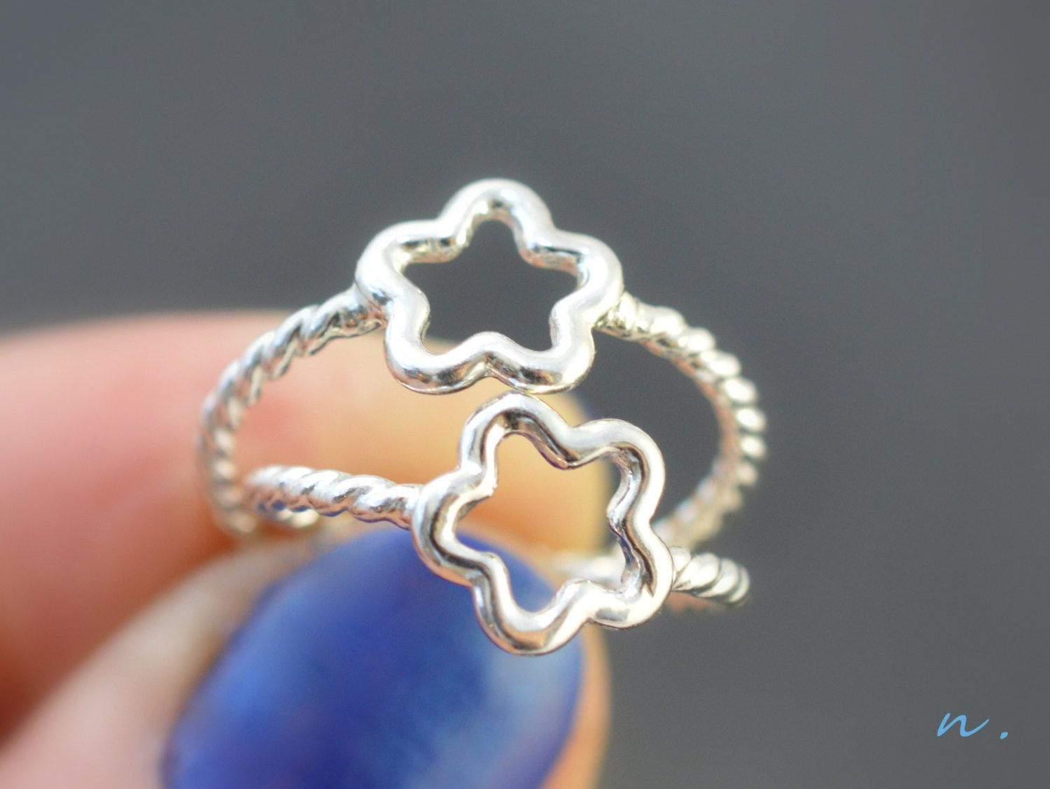 Lucky star ring, Sisters rings, Best friend rings, Mother Daughter ...