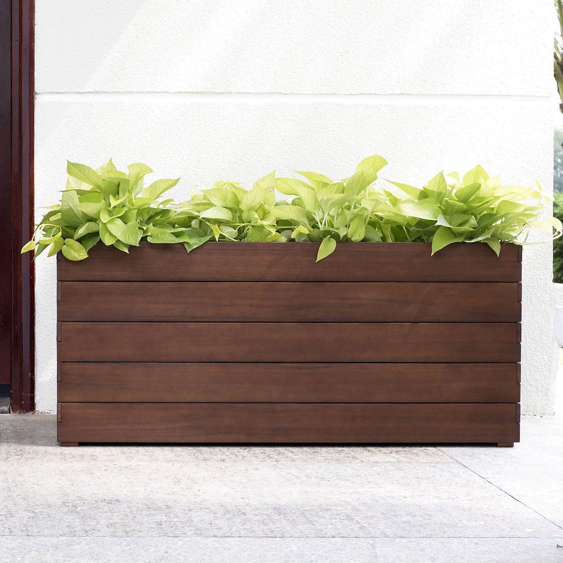 image garden plant street rectangle planters cadix trough greenhouses planter own pots low decor your grow rectangular