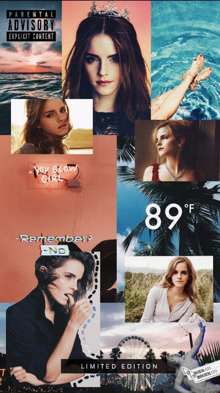 Lockscreen Emmawatson Emma Watson Wallpaper Hd Moodboard Orange Aesthetic Tumblr Locks Adrthsn