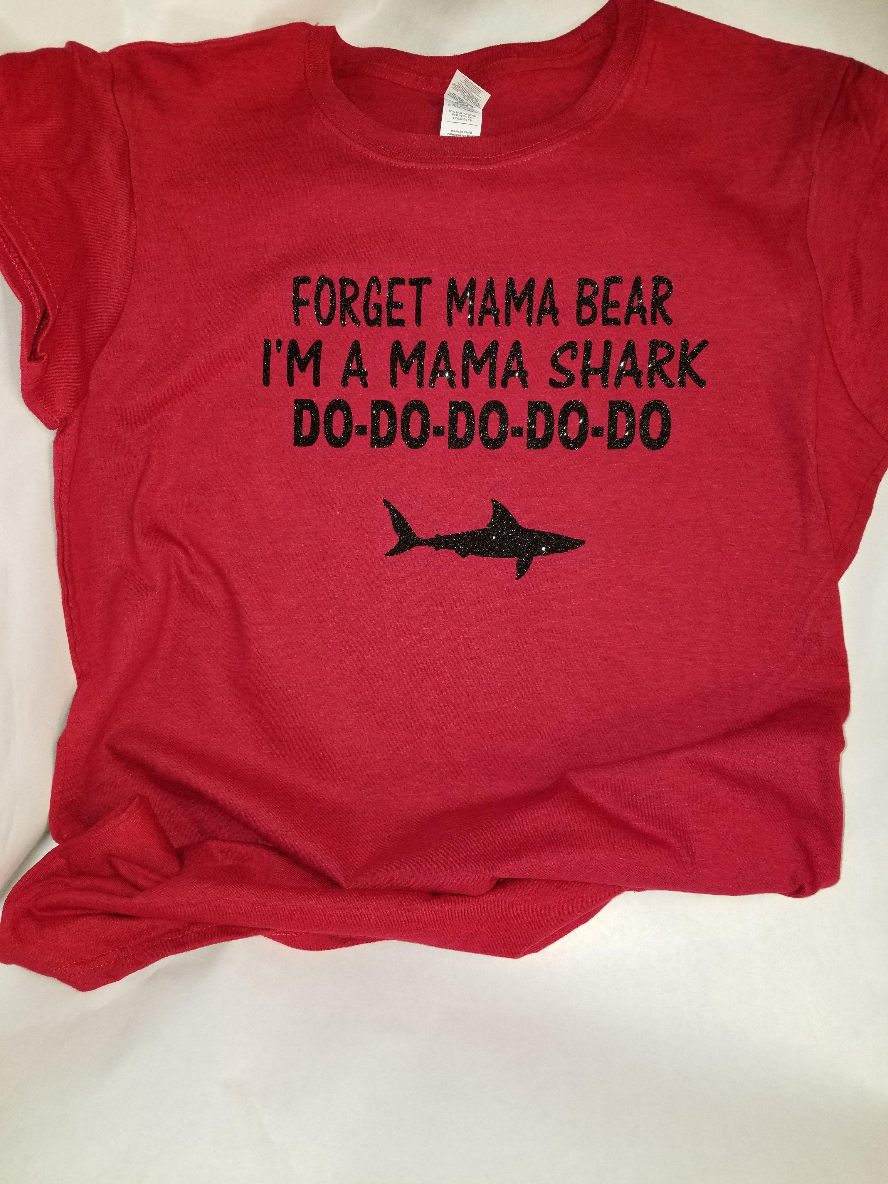 1f17f10c Mama Shark Shirt | Products | Shark shirt, Mama shark, Shirts