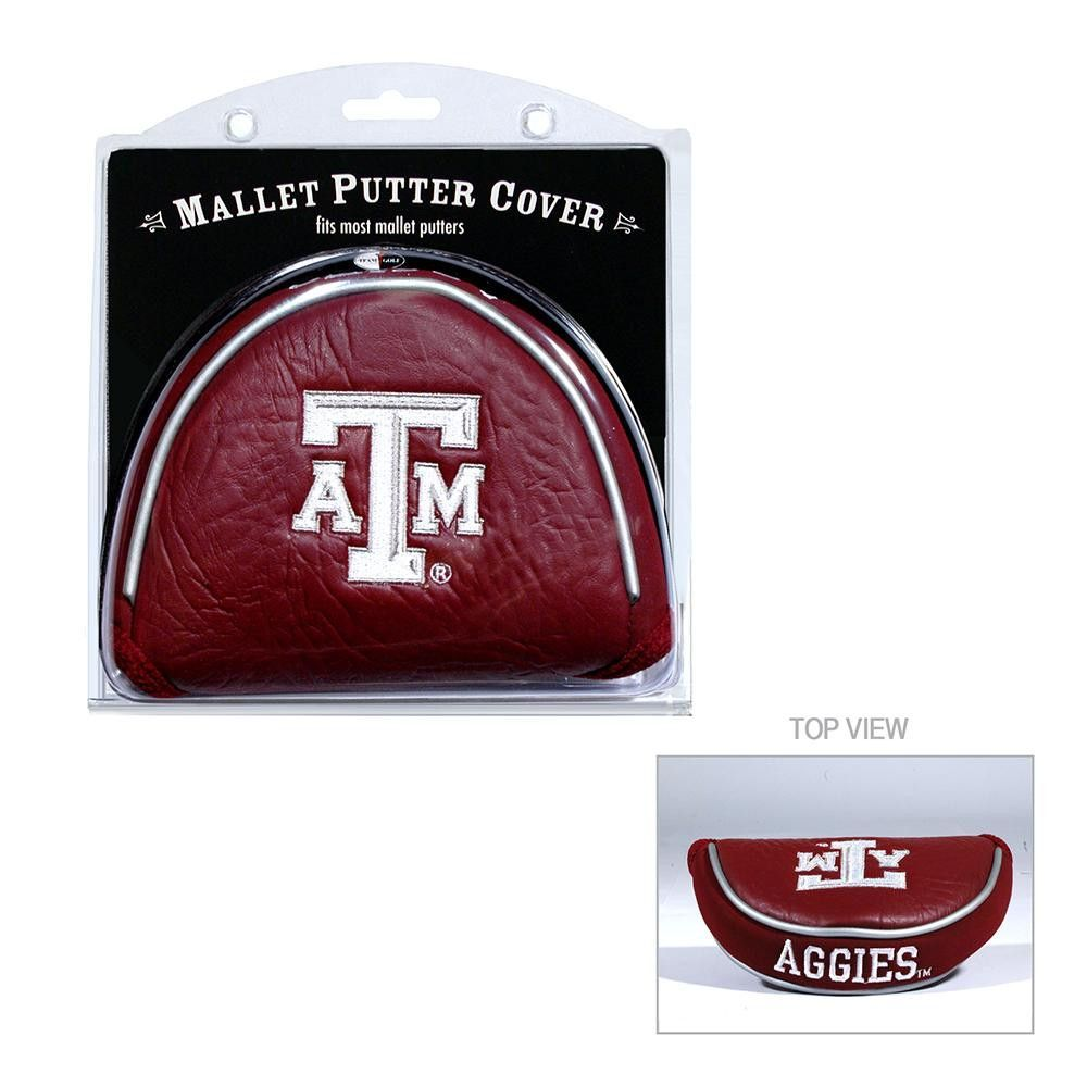 Texas A&M Aggies NCAA Putter Cover Mallet Putter, Golf