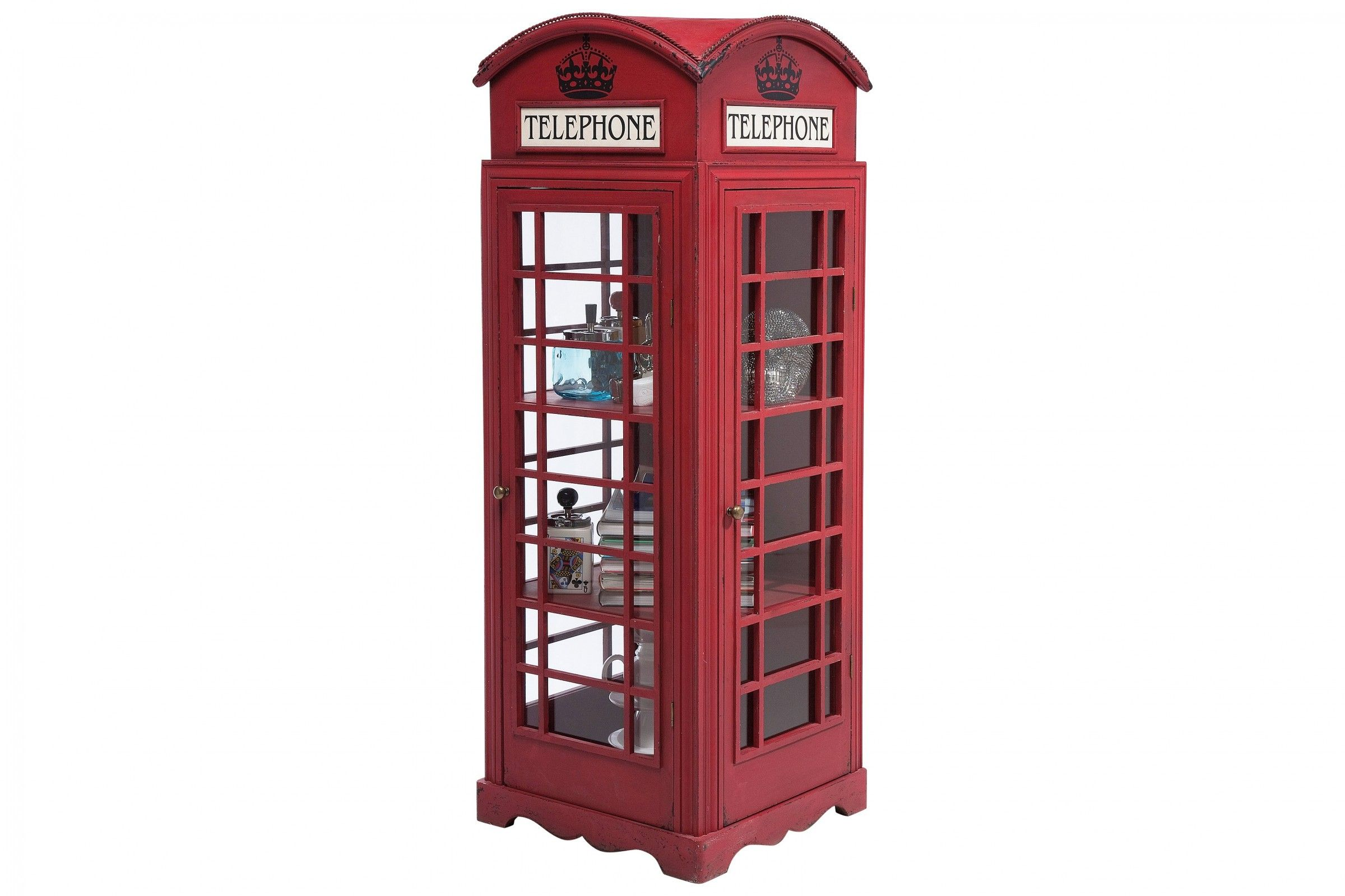 Schrank London Telephone Display Cabinet British Interior London Phone Booth