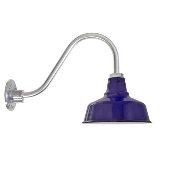 Goodrich® Esso Porcelain Gooseneck Wall Light | Barn Light ...