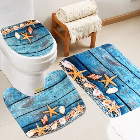 Home Bath Mat Bathroom Accessories Sets Home Decor Christmas Gifts