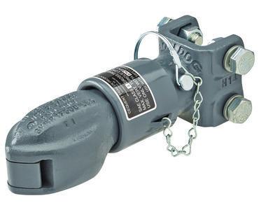 "4BWC-AR --- BULLDOG Adjustable Anti-Rattle Coupler 12,500 lb Capacity - 2-5/16"""""