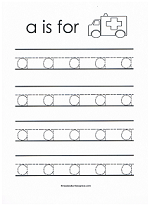 Free Printable Tracing Worksheets For All The Lowercase Letters