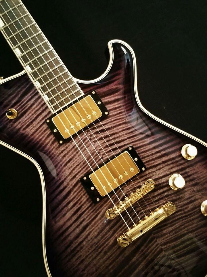 Knaggs Guitars  T1 Steve Stevens SSC in PurpleBurst