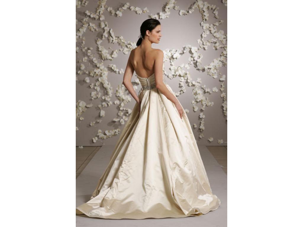 Lazaro 3018 Size 20   Wedding Dresses   white dress   Pinterest ...