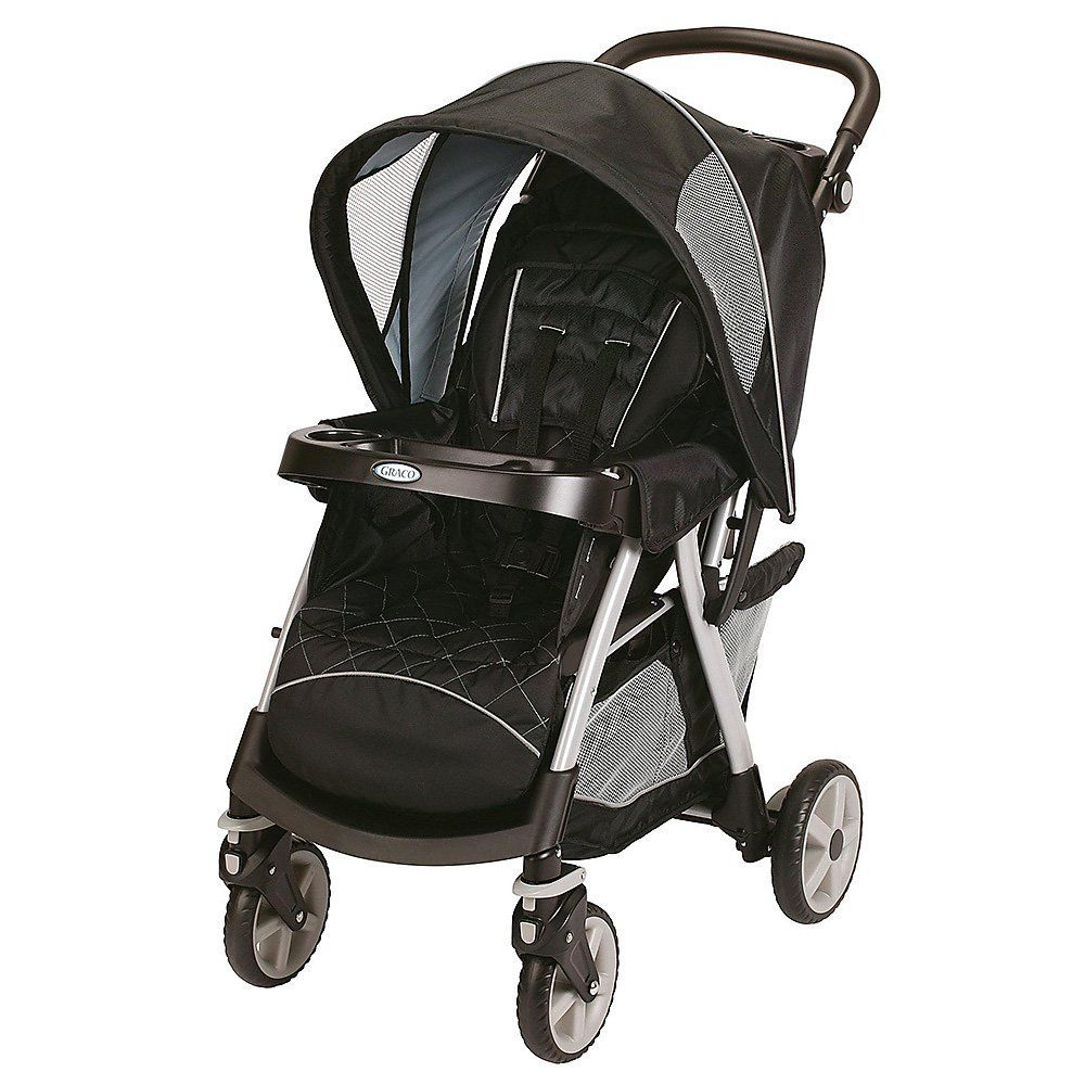 Graco Urbanlite Travel System Stroller Black Magic Click