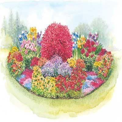 THREE SEASON GARDEN PLAN; Season Garden designed to fit a ...