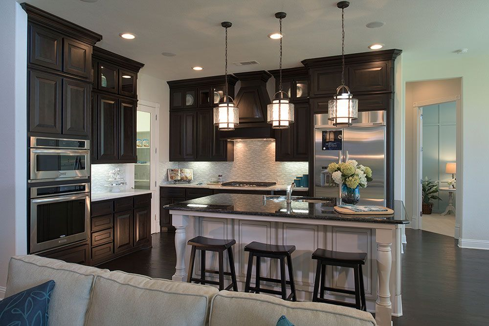 Toll brothers model home in canyon falls kitchen for Kitchen in the canyon