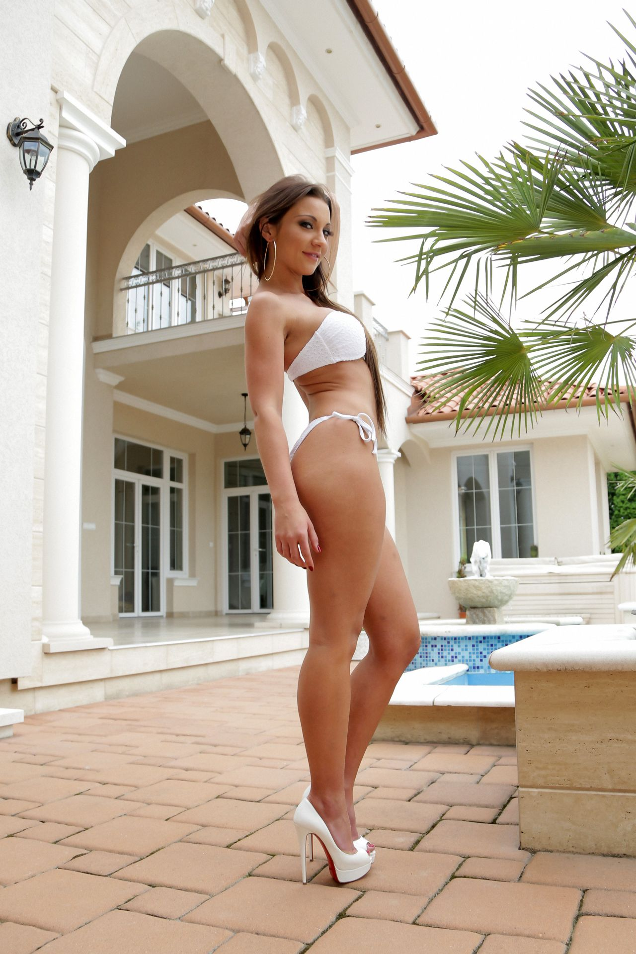 high heels and Bikini