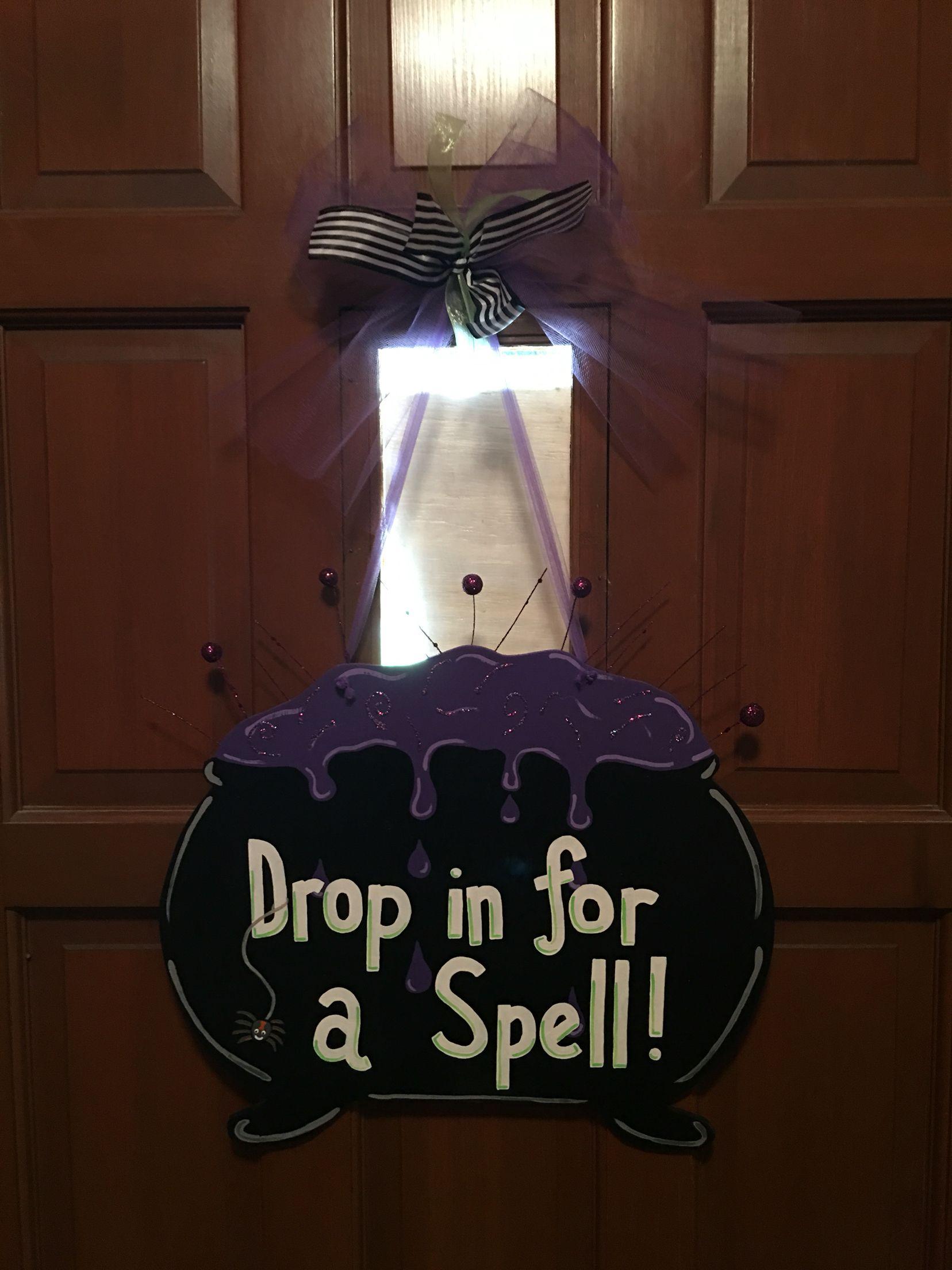Halloween Wreath, Boo Sign, Front Door Decor, Halloween