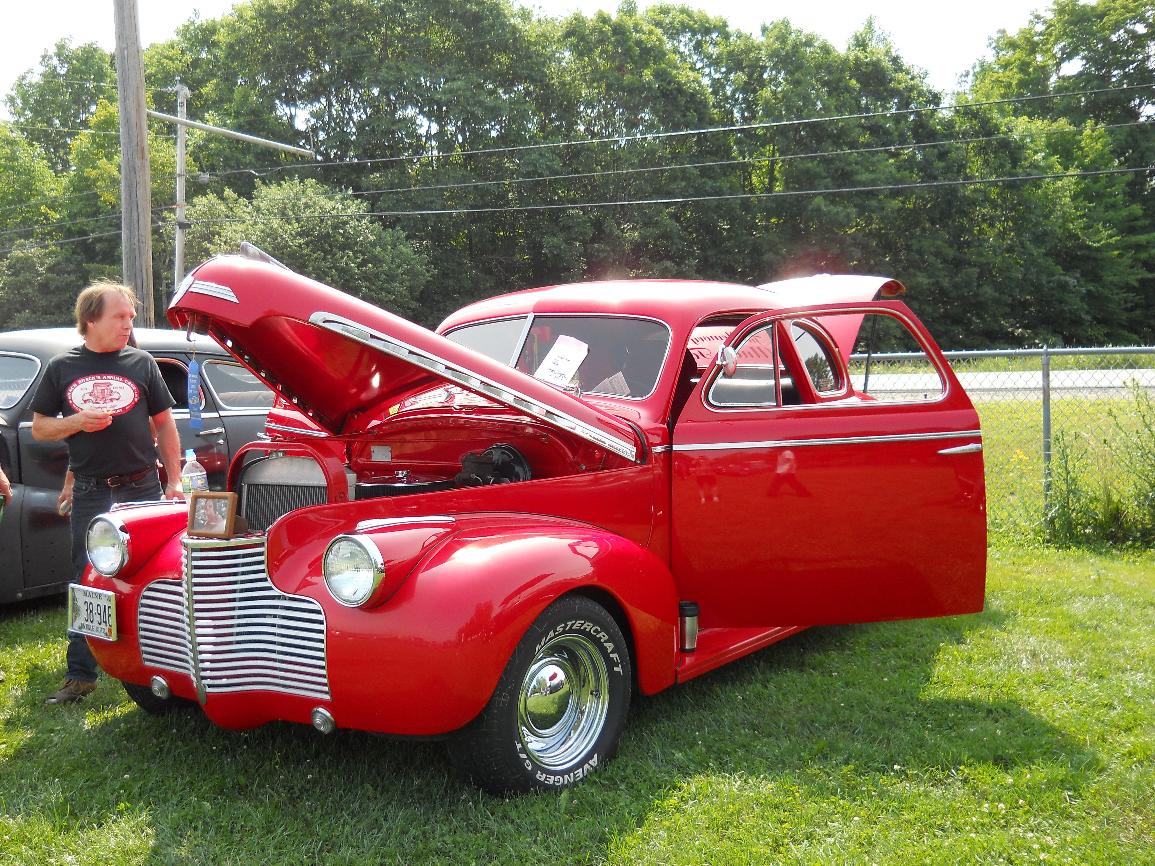 1940 Chevy Coupe 2 Door With Driver Seat That Turns For Easy Get Out Classic Hot Rod Coupe Chevy