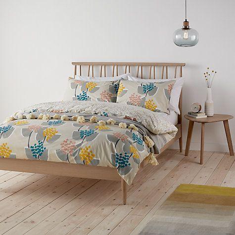Buy John Lewis Stellan Print Cotton Duvet Cover And Pillowcase Set