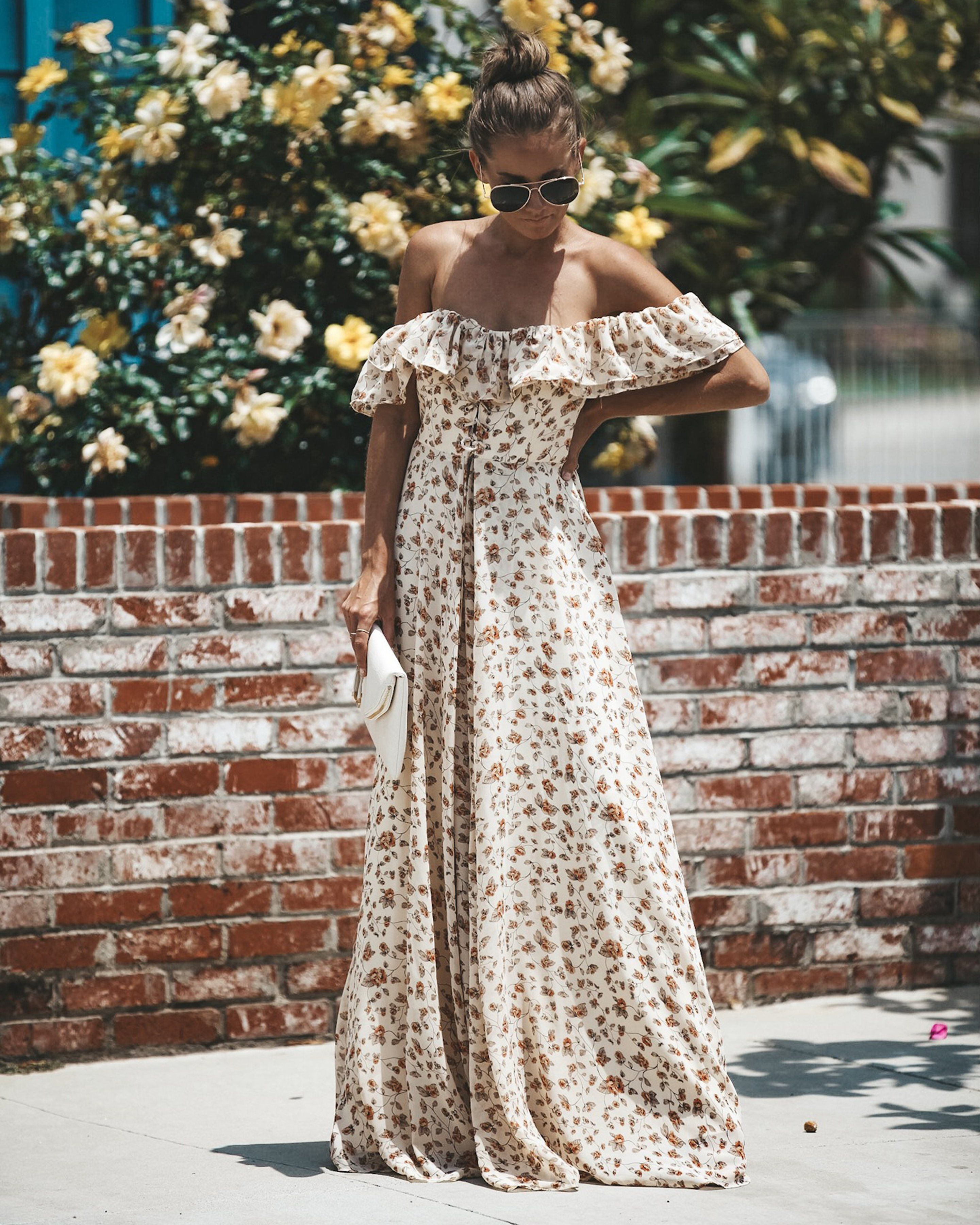 Gone With The Wind Off The Shoulder Maxi Dress Vici Collection Shoulder Maxi Dress Maxi Dress Photoshoot Dress [ 3600 x 2881 Pixel ]