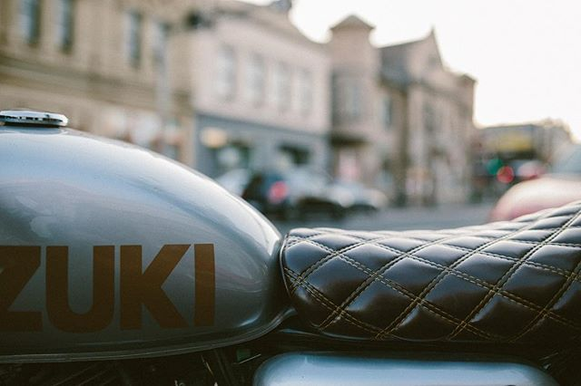 The nice TU250x from Melbourne. 📷Alexander Gardner #custombike #suzuki #tu250x #suzukitu250 #suzukitu250x #caferacer