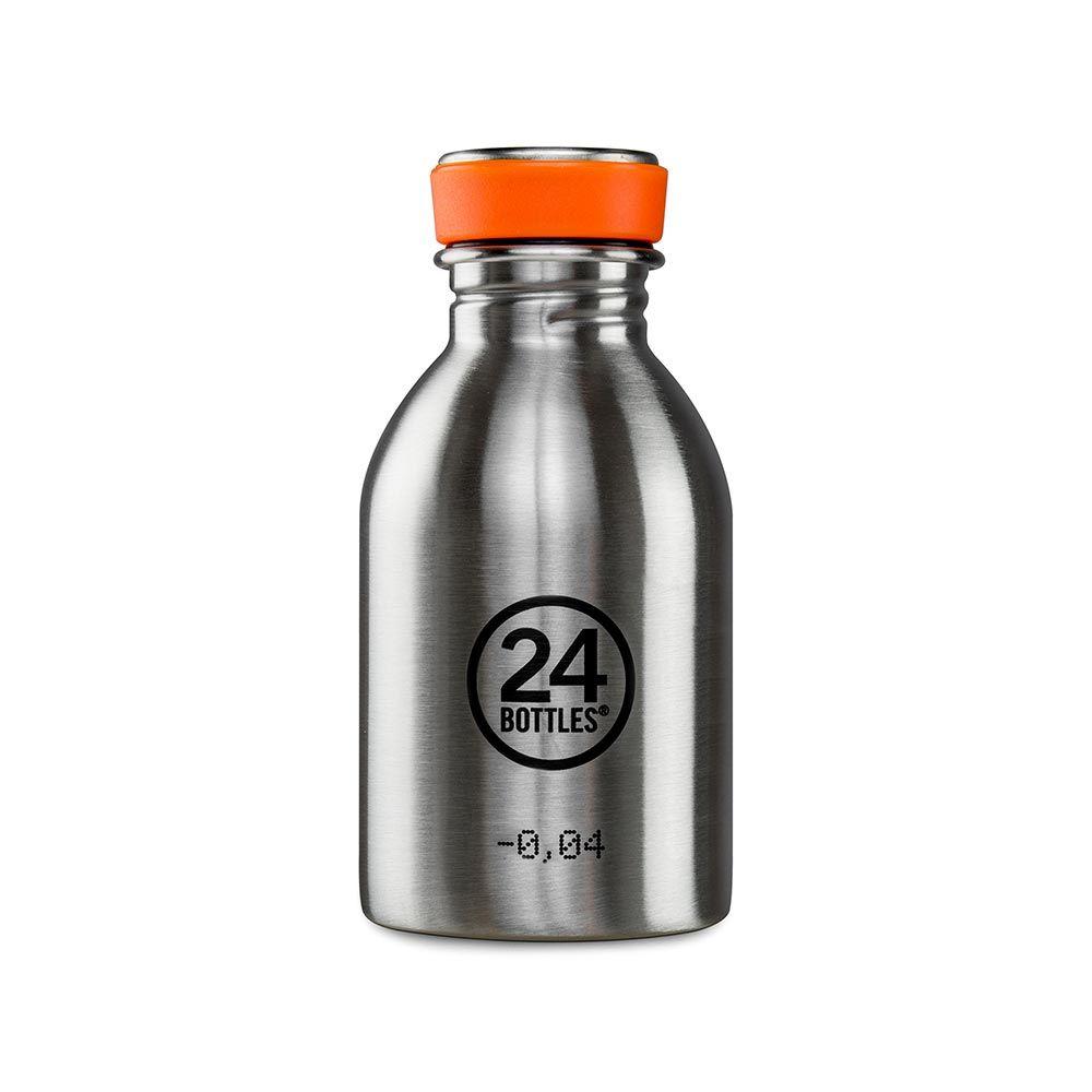 Kleine Trinkflasche Aus Edelstahl Mit 250ml Fullmenge Fur Die Kleine Erfrischung Wasserflasche Trinkflasche