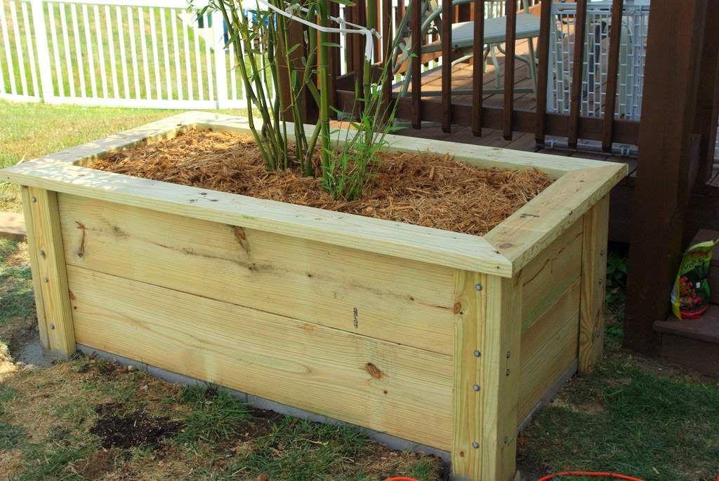 Planter box build day 2 Planter boxes, Wooden planter