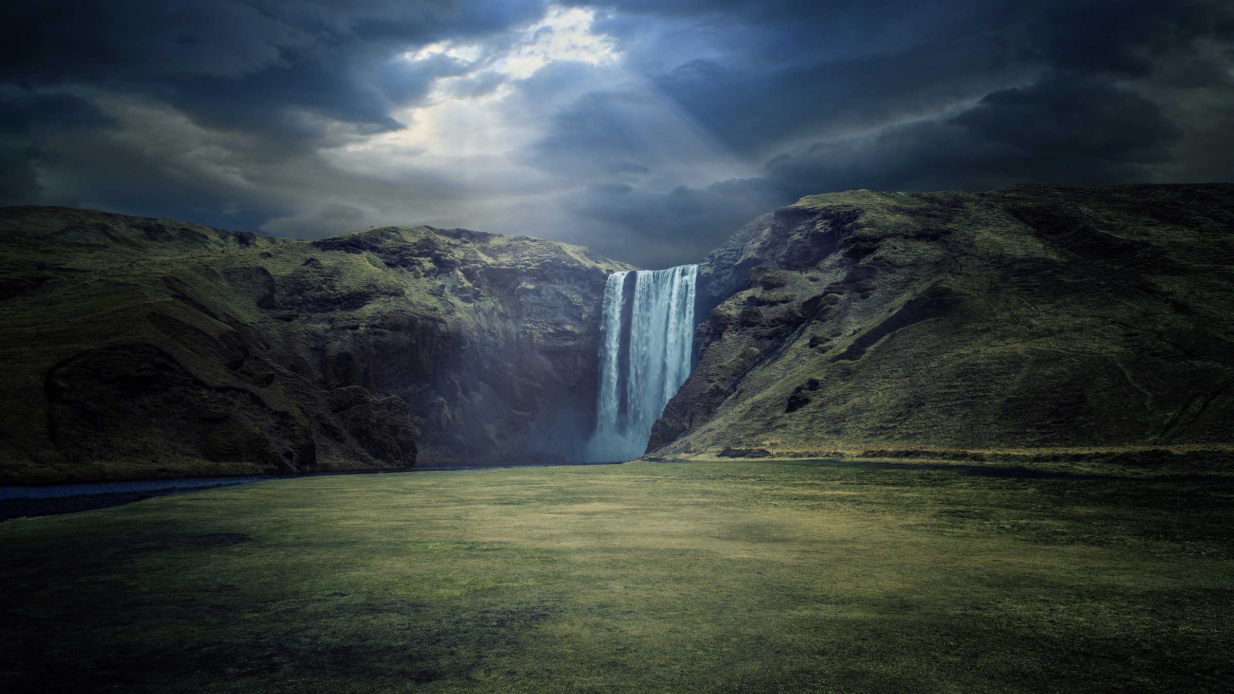 10 Beautiful 4k Wallpapers 5 Waterfall Wallpaper Waterfall