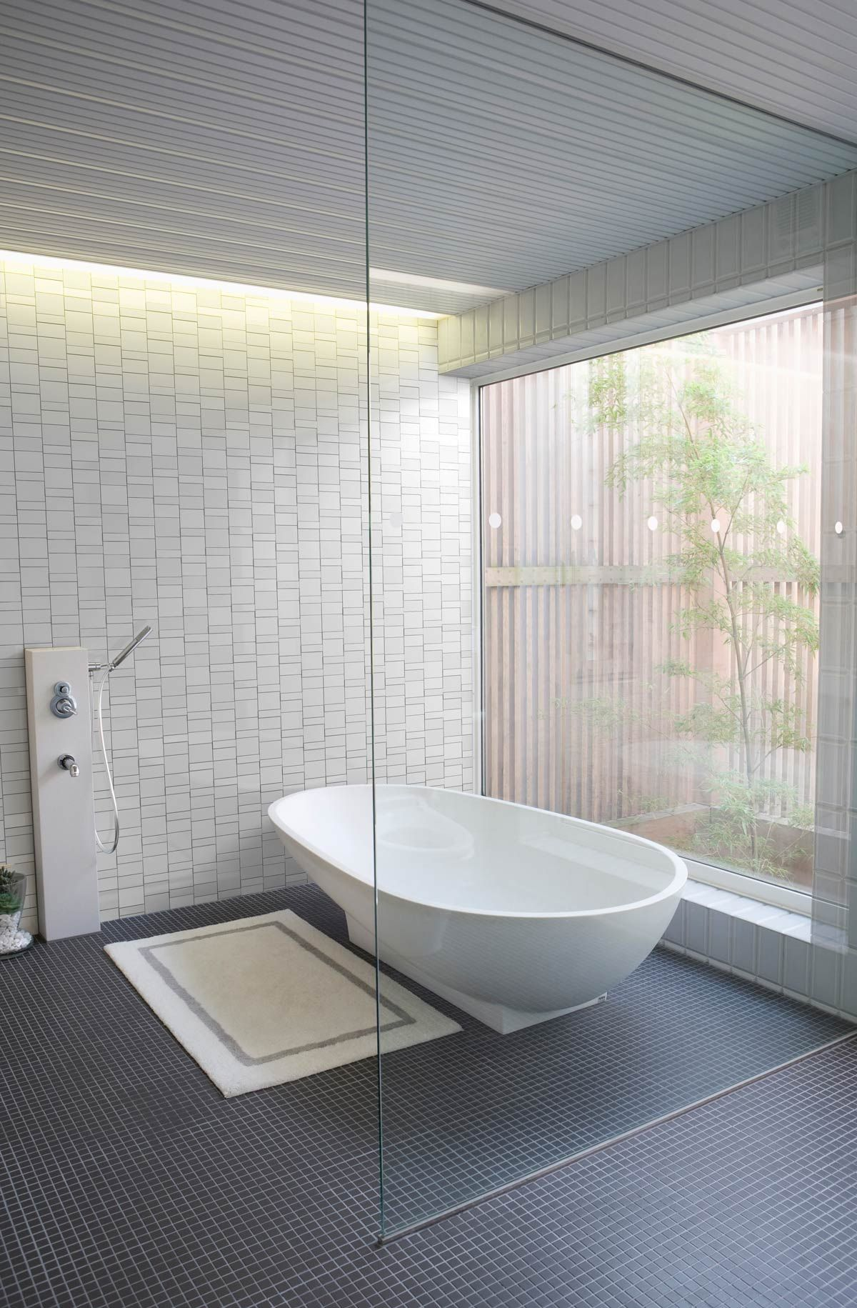 inax | format | white (matte) mosaic tiles from stone tile inc