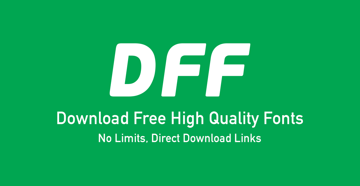 Free fonts by category, type, daily updates  Fonts are in