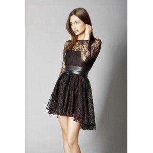 Vestido De Encaje Para Fiesta Viste A La Moda Moda Y