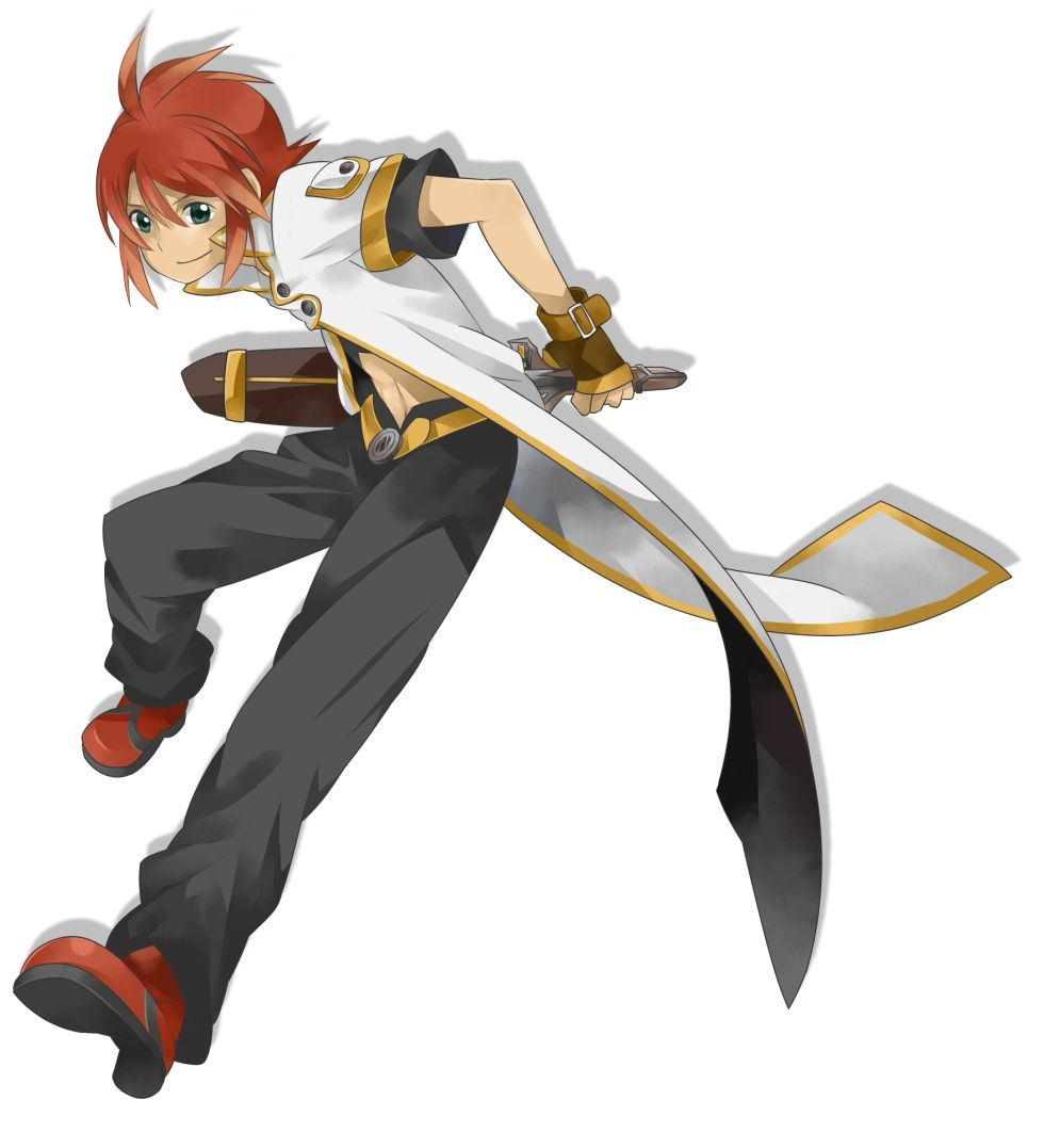 Luke from tales of the abyss cute anime boy anime bandai