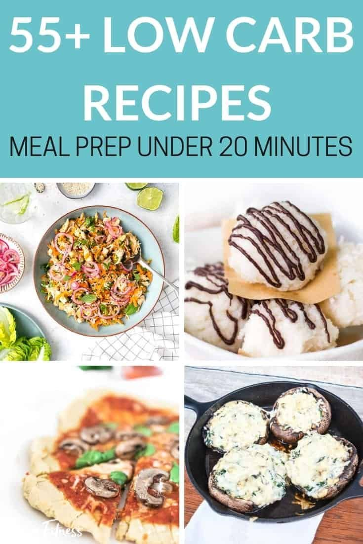 Low Carb Recipes For Weight Loss - 55+ Quick Easy Meal Ideas images