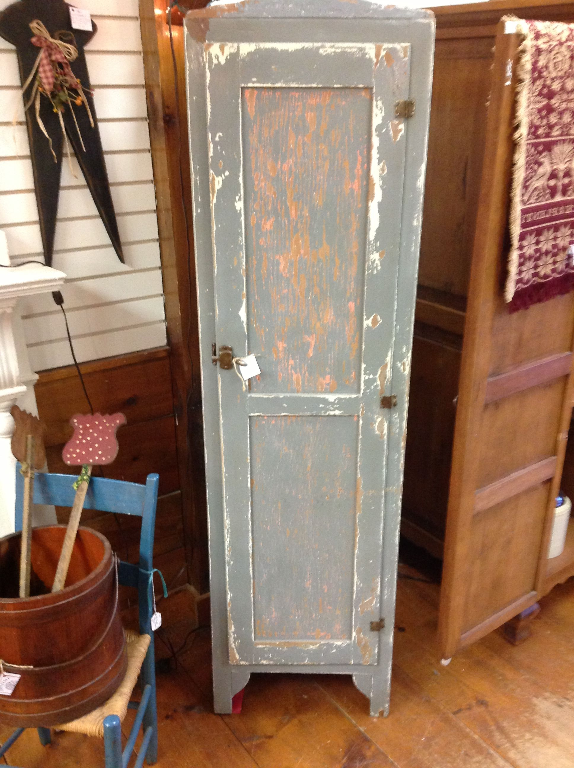 Single Tall Kitchen Cabinet image result for antique rustic vintage linen cabinets