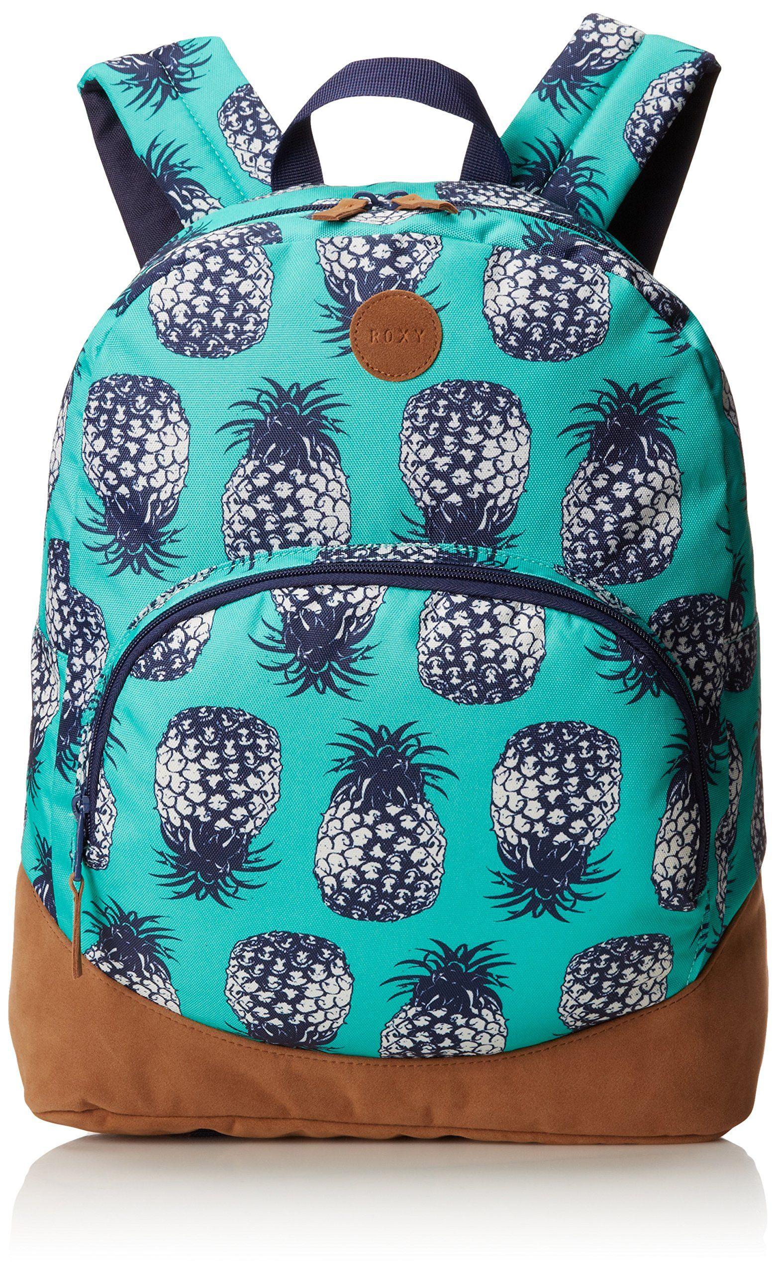 roxy juniors fairness backpack roxy colada marine green one size