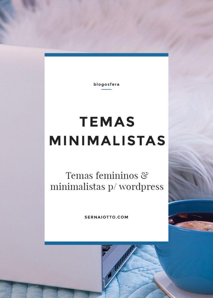 Temas minimalistas para wordpress | Pinterest | Minimalistas